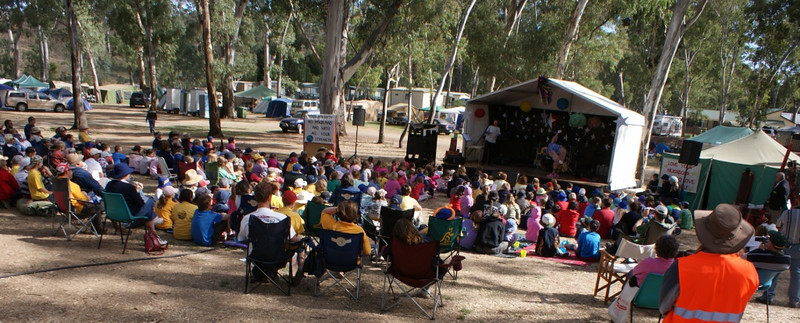 Camp Ministry in Australia - Clare Valley